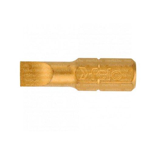 Lapos bit TiN 0,8x5,0x25 mm
