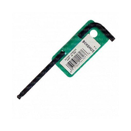 Torx gömbvégű L-kulcs T10