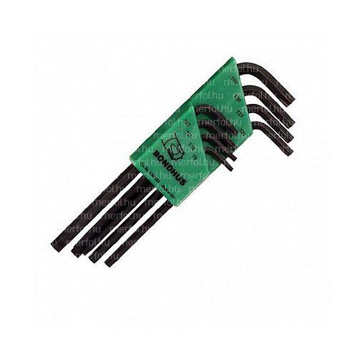 L-kulcs hosszú Torx készlet T9-T40