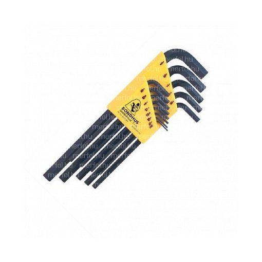 L-hatszögkulcs hosszú egyenesvégű készlet HLX13S