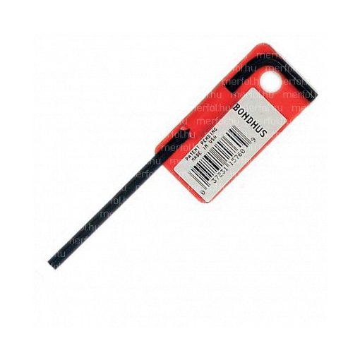 L-hatszögkulcs hosszú egyenes végű  1,27 mm
